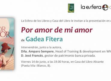 Imagen de Próxima presentación en Alicante de Por amor de mi amor